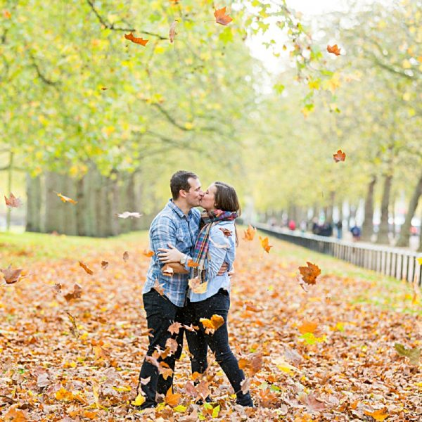 Luke & Beckys London Engagement Shoot