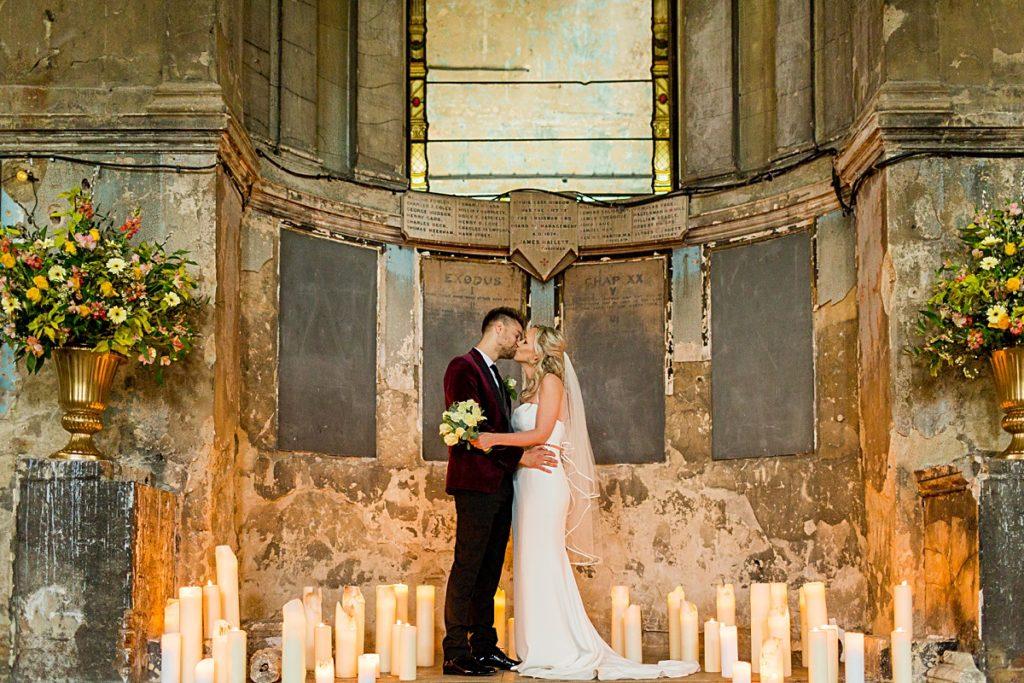the Asylum Chapel Wedding