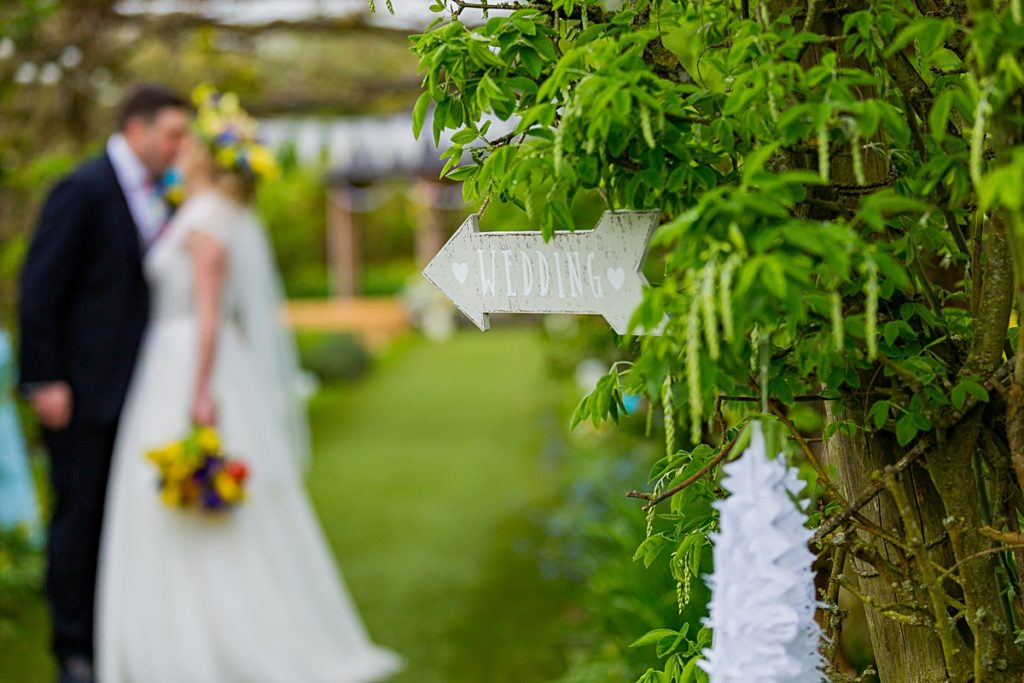 The Gardens Yalding Kent Wedding