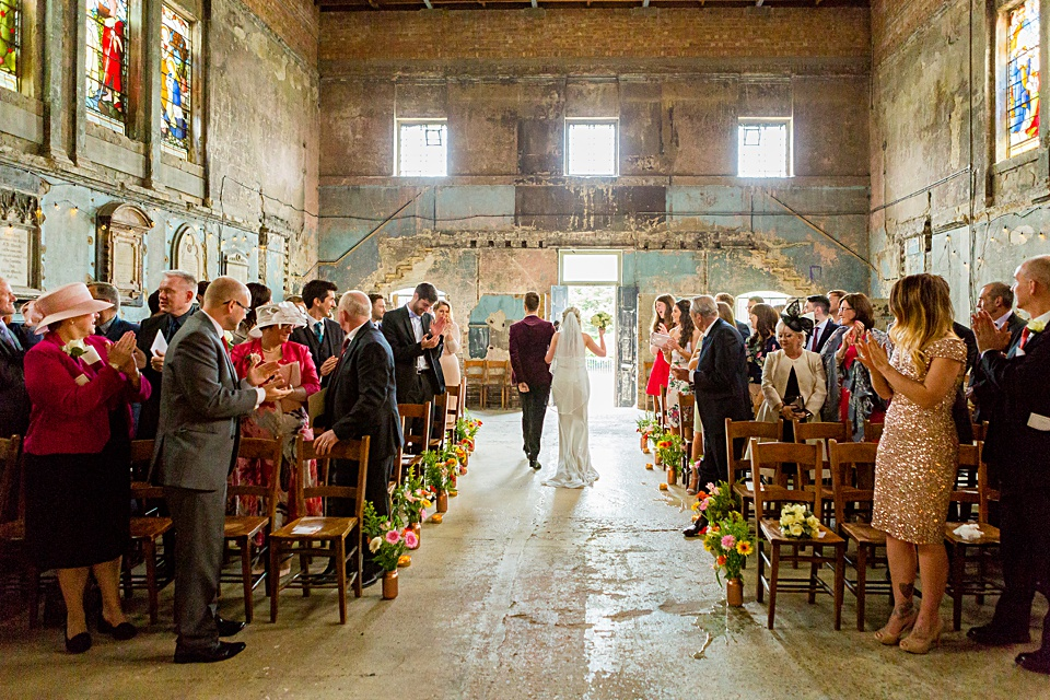 The Asylum Chapel Wedding London