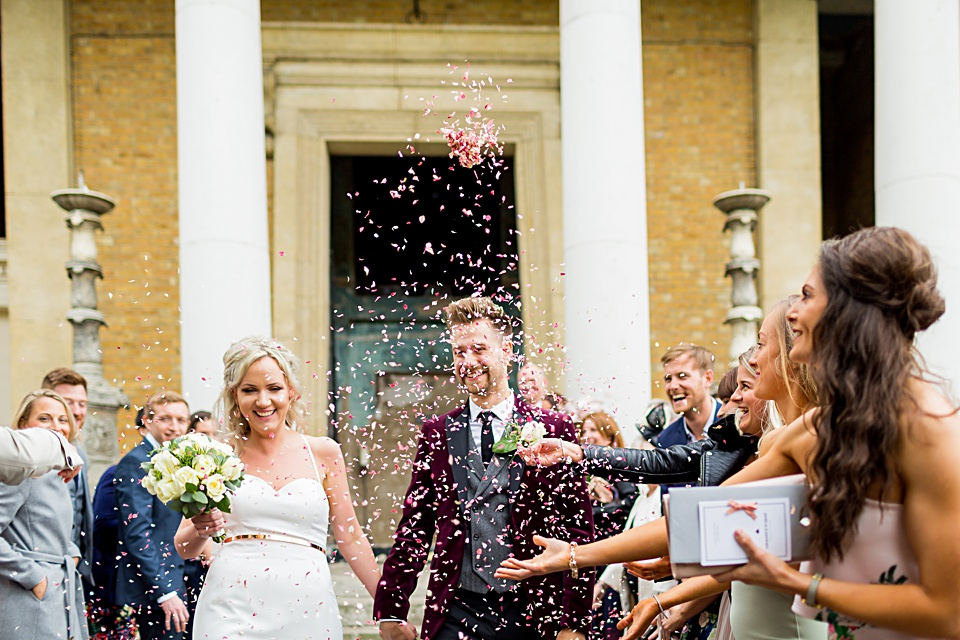 Confetti at the Asylum Wedding London